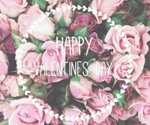 love, flowers, and valentine image