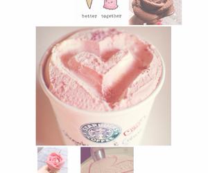 cream, happy, and heart image