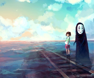 ghibli, spirited away, and chihiro image