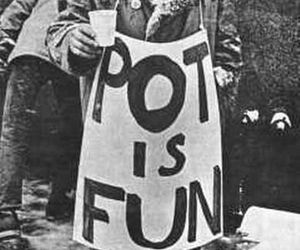 pot, Allen Ginsberg, and black and white image