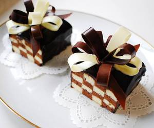 cake, chocolate, and yummy image