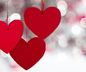 love, heart, and valentine image