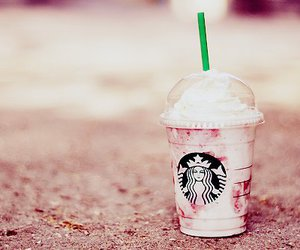 starbucks and pink image