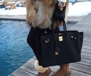 ugg, bag, and fur image