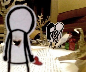 alone, couple, and lonely image