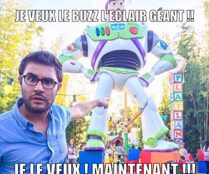 buzz l'éclair, cyprien, and french youtubers image