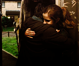 harry potter, hermione granger, and hug image
