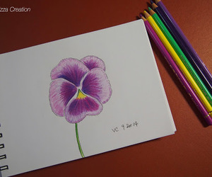 artist, artsy, and colorpencil image