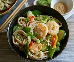 healthy, japanese, and noodles image