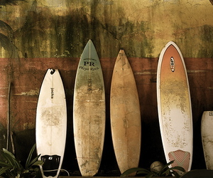 surf, surfboard, and surfing image