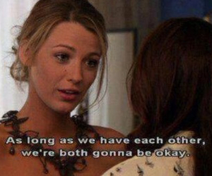 gossip girl, quote, and blair image