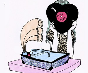 music, valfre, and art image