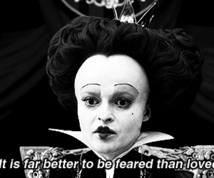 alice in wonderland, quotes, and fear image