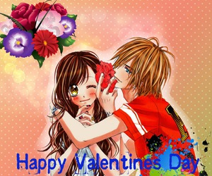 anime, chocolate, and valentines day image