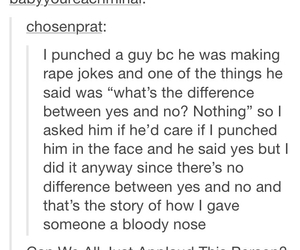 fun, punch, and rape image