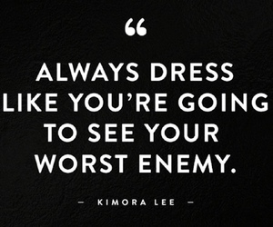 dress, quotes, and enemy image