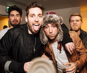 alex gaskarth, all time low, and you me at six image