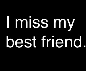 best friends, miss, and friends image