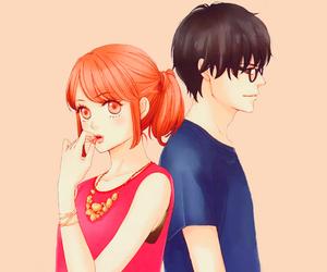 b&w, kawaii, and manga image