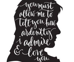 jane austen, quote, and mr darcy image