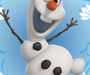 froid, olaf, and neige image