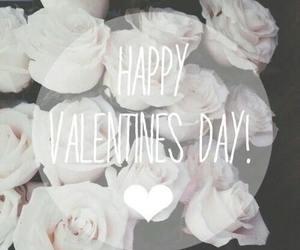 love, rose, and valentine image