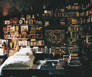books, peace, and beedroom image