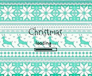 loading, christmas, and Paper image