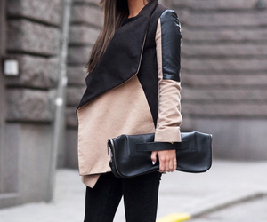 bag, fashion, and hair image