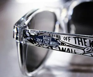 vans, glasses, and sunglasses image