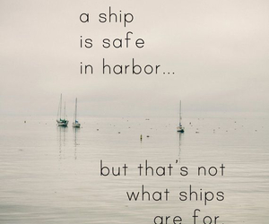 quotes, ship, and boat image