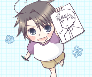 yaoi, sekaiichi hatsukoi, and tori image