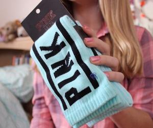 pink, fashion, and socks image