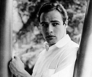 handsome, marlon brando, and what a man image