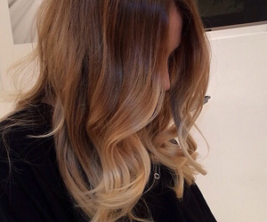 hair, style, and hairstyle image