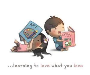 boy, learn, and valentines day image