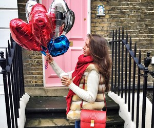 balloons, fashion, and love image