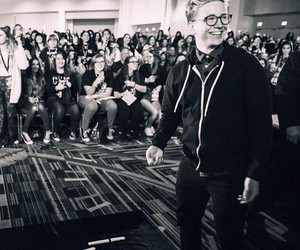 b&w, tyler, and oakley image