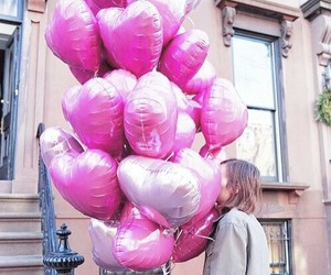 pink, love, and style image