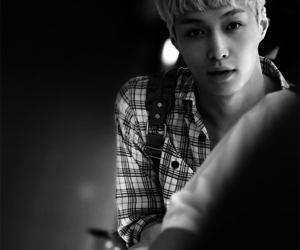 black and white, exo, and lay image