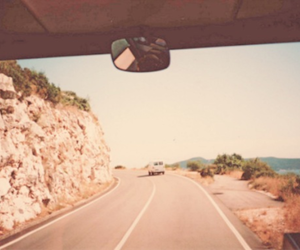road, car, and photography image