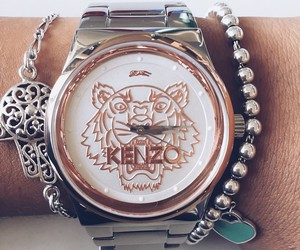fashion, Kenzo, and watch image