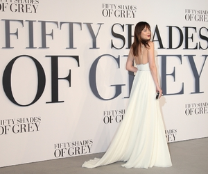 Jamie Dornan, dakota johnson, and fifty shades image