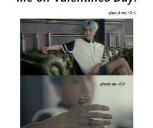 funny, korea, and valentine image