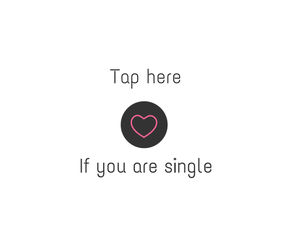 black, heart, and single image