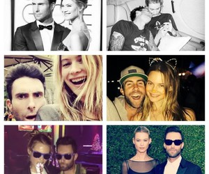 love, adam levine, and couple image