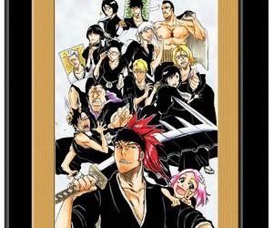 anime, bleach, and kuchiki rukia image