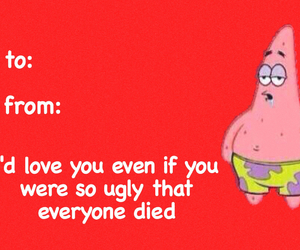 card, funny, and valentine image