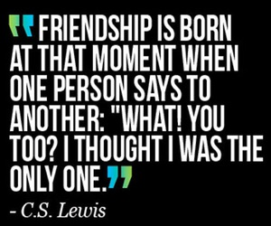 famous people, friendship, and quotes image