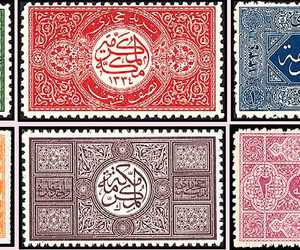 arabic, stamps, and mecca image